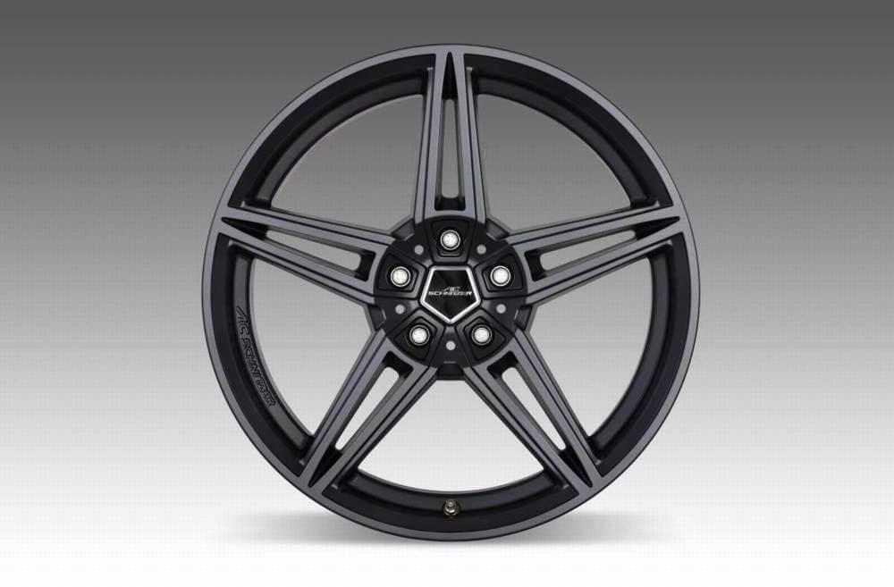 ac schnitzer wheel 8 5 x 19 39 39 ac1 anthracite et43. Black Bedroom Furniture Sets. Home Design Ideas