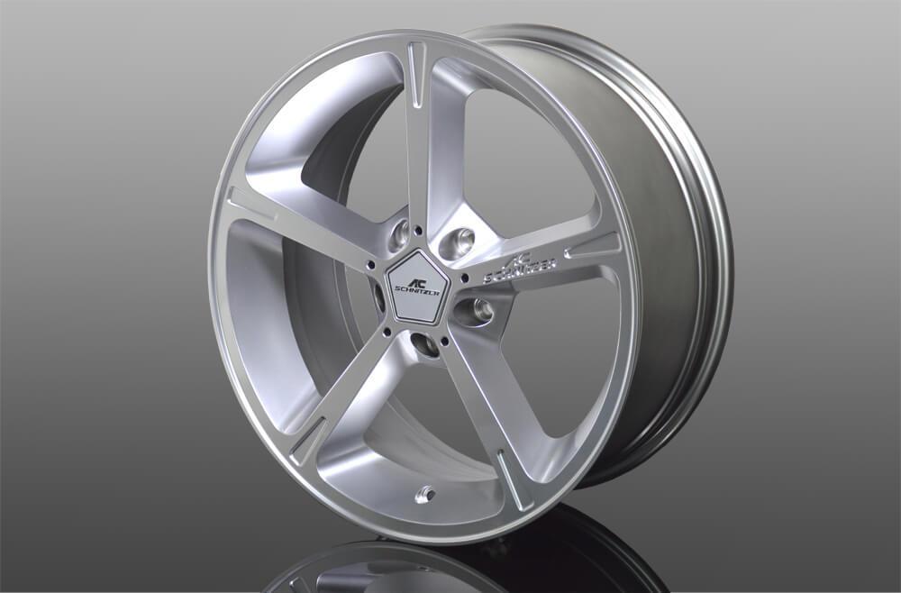 ac schnitzer wheel 8 5 x 18 type iv silver munich. Black Bedroom Furniture Sets. Home Design Ideas