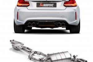 Akrapovic BMW M2 competition blog news
