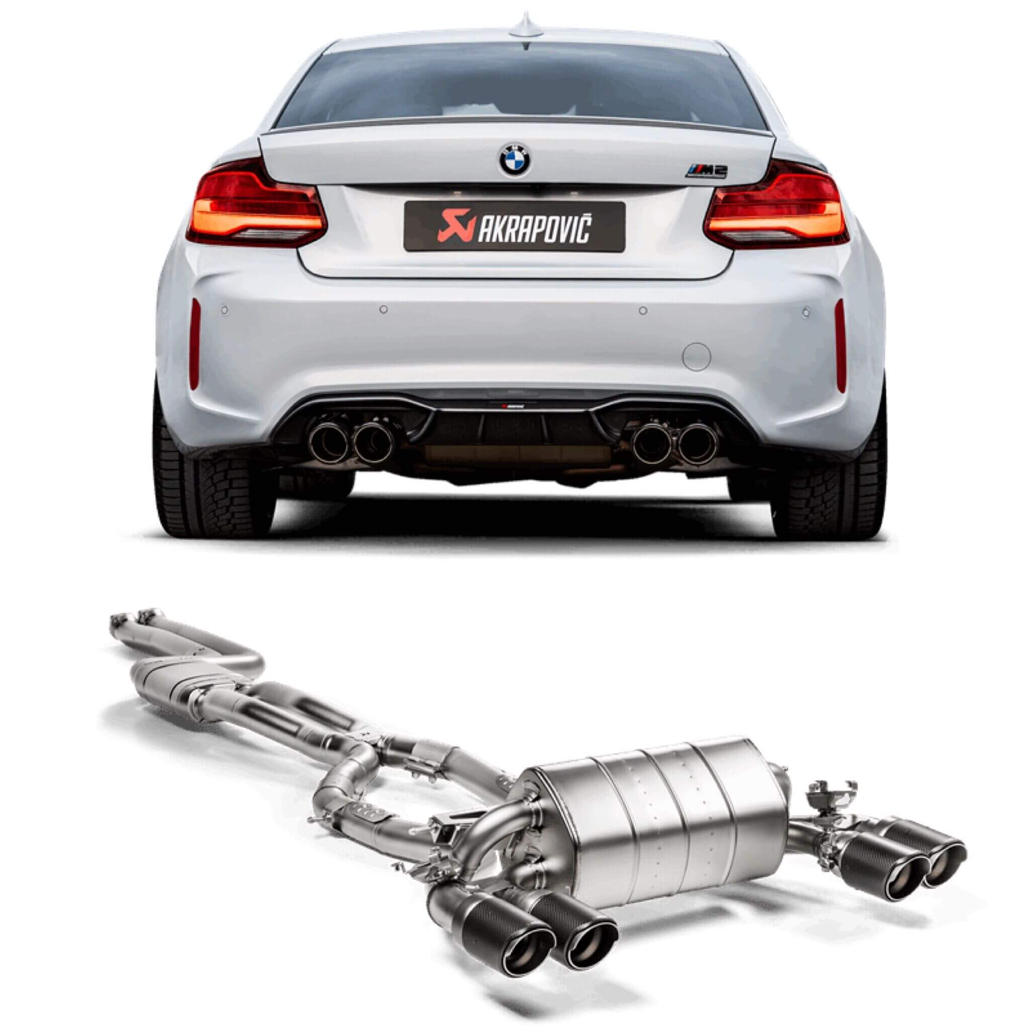 Official Release Akrapovic Exhaust For Bmw M2 Competition Munich Garage Com